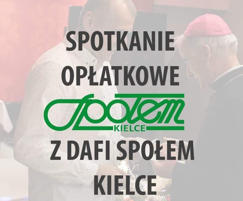 spotkanie opłatkowe Społem i Dafi Społem Kielce.