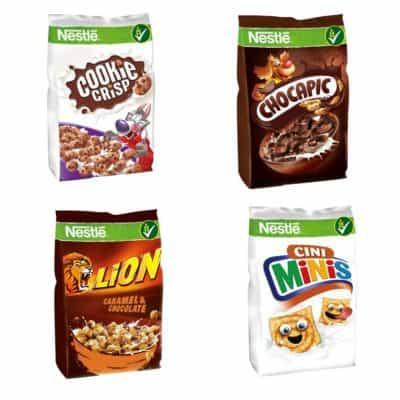 Płatki Nestle