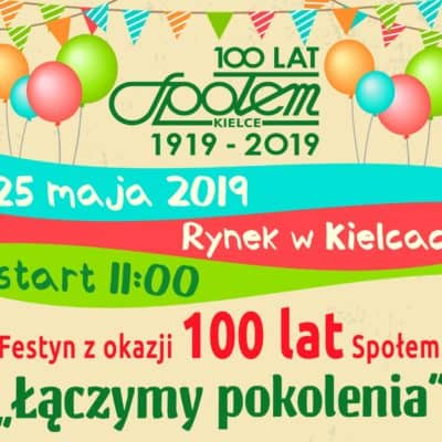 Festyn Łączymy Pokolenia – Społem Kielce!
