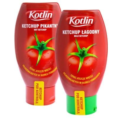 Ketchup KOTLIN łagodny/pikantny