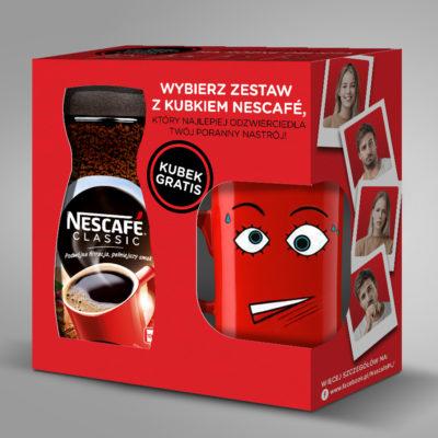 Kawa Nescafe Classic z kubkiem