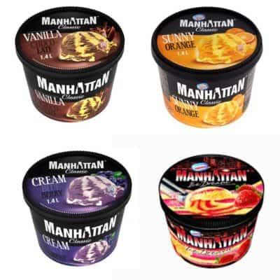 Lody Manhattan 0,5 l – różne smaki