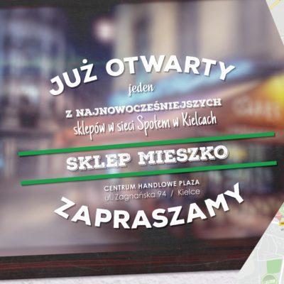 Co łączy Mieszka, neony i Społem Kielce? Nasz świeżo otwarty sklep!
