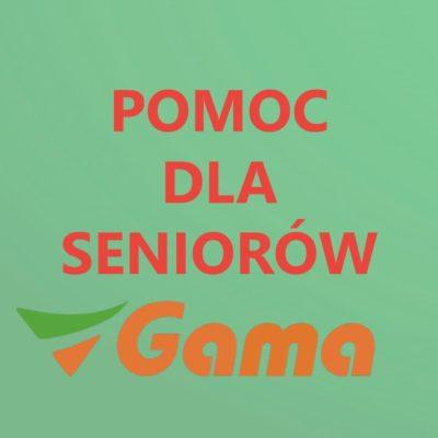 Zakupy dla Seniora 60+ SKLEPY SPOŁEM i GAMA.