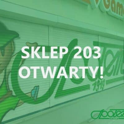 GAMA 203 – nowy sklep na mapie Kielc