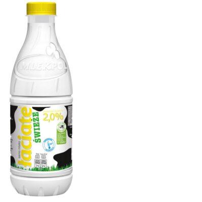 Mleko UHT Łaciate 2% 1l.